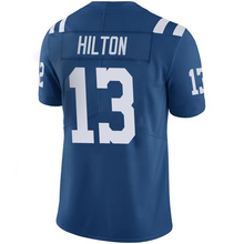 Men's #12 Andrew Luck Jersey Adult #13 T.Y. Hilton Royal Color Rush Limited Luck Jersey High-quality Embroidery Free Shipping(China (Mainland))