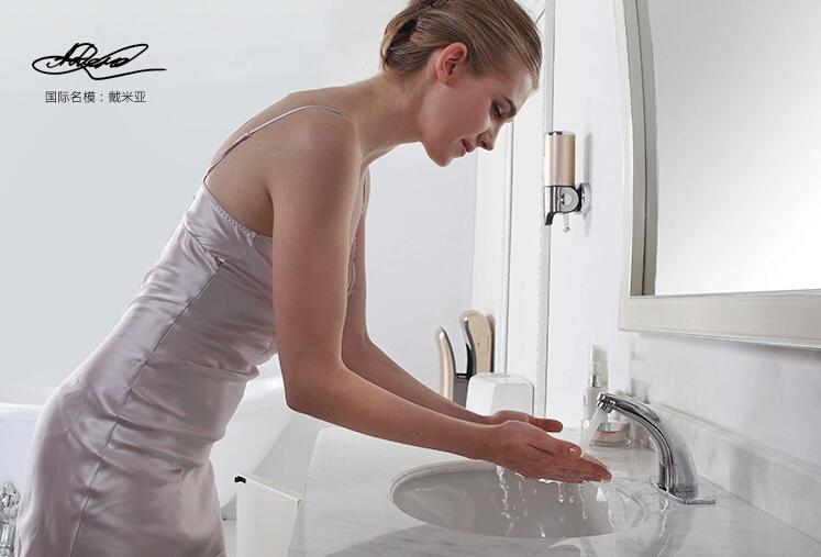 Inflared Sensor automático de água torneiras de cozinha pia do banheiro bacia torneira de água fria