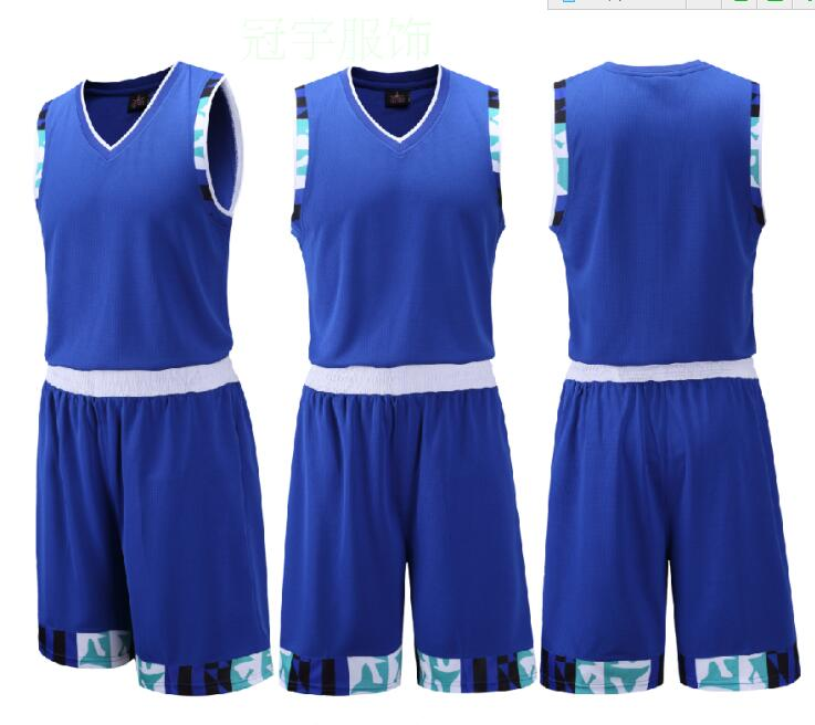 ZOUSUO Adult Men Reversible Basketball Jersey Sets Uniforms kits Sports clothes Double-sided basketball jerseys suits Customize(China (Mainland))