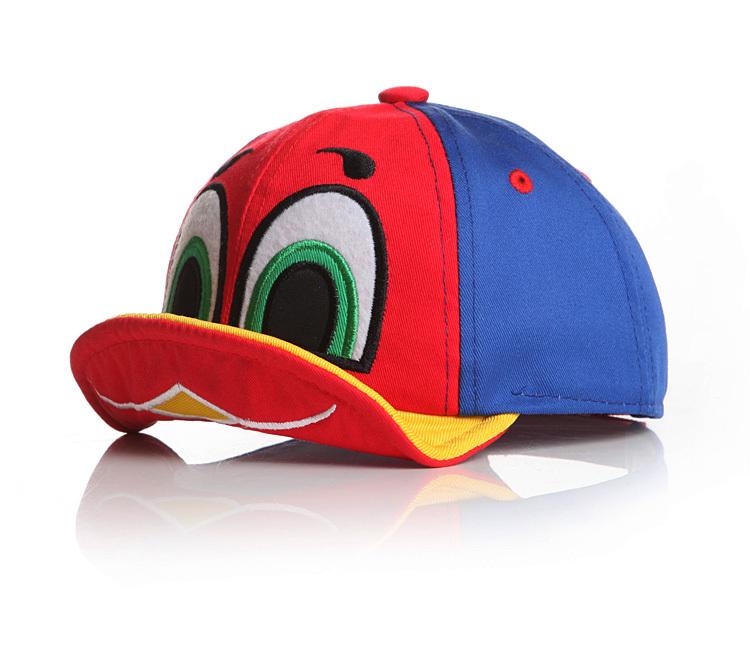 2016 New Baby Boy and Girl Cute Cartoon Duck Design Adjustable Baseball Cap Infant Toddler Summer Sun Peaked Hats 6-24M(China (Mainland))