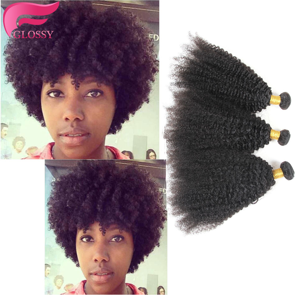 mongolian afro kinky curly virgin hair weave bundles product deals 100% unprocessed human virgin hair 2pcs/lot afro kinky curly<br><br>Aliexpress