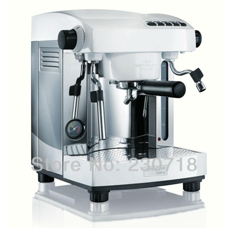 Espresso coffee machine Professional Double pump semi automatic coffee machine Handle semi ...