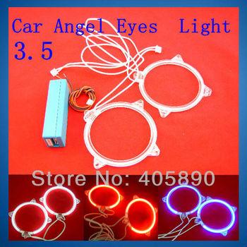 3.5 Inch Angel Eyes Car Light 9cm Diameter 12V