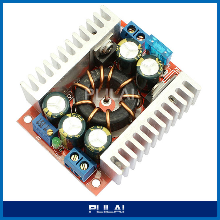High Power 15A DC-DC Buck Converter 4-32V Step 1.2-32V Adjustable Supply Module - PLILAI store