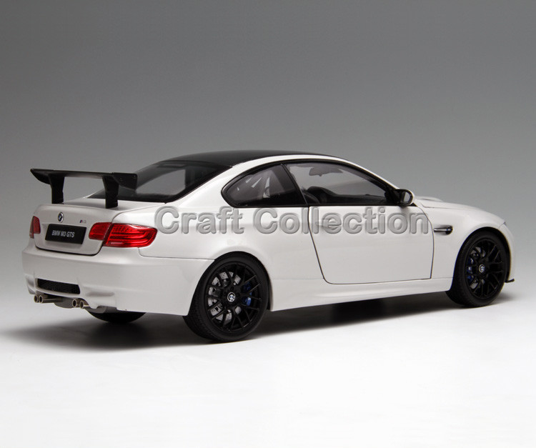 * Kyosho White 1/18 Automobile Mannequin for M3 E92 GTS Coupe Excessive-end Diecast Mannequin Restricted Version Alloy Automobile