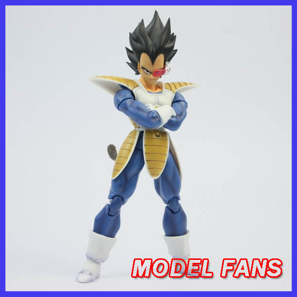 MODEL FANS IN-STOCK DaTong DT Dragon Ball Z Vegeta Black hair Fighting clothing Action Toy Figures(China (Mainland))