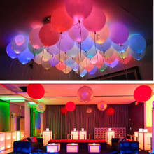 15 Pcs LED Balloons 12 Linches Latex Multicolor Lights Christmas Decoration Wedding Party Supplies Happy Birthday(China (Mainland))