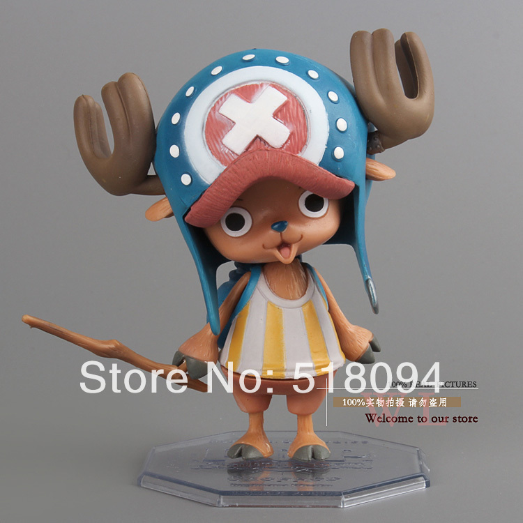 """Free Shipping Cute 4"""" Anime One Piece P.O.P POP Tony Tony Chopper After 2 Years PVC Action Figure Model Collection Toy OPFG037(China (Mainland))"""