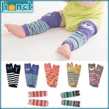 0-5 Year Baby CAT&BEAR Warm Knee Pads Children Cotton Cartoon Children's Kids Leg Warmers Baby Boy Girls Brand Socks 7 Style(China (Mainland))