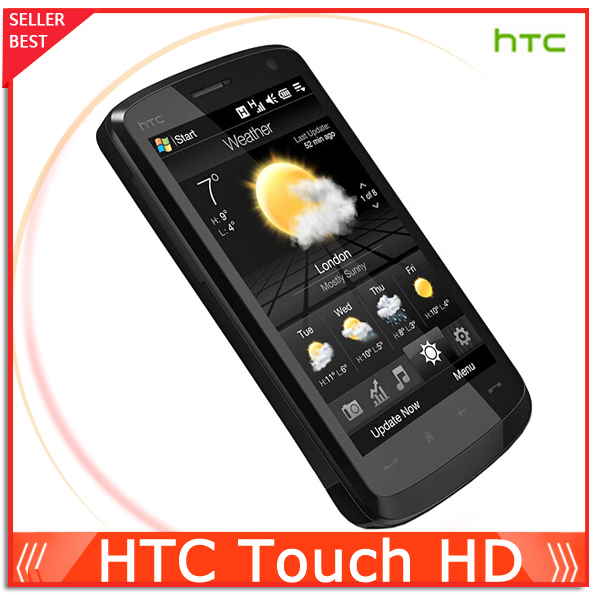 Original Phone HTC Touch HD T8282 3G Wifi GPS 3.8'' Touch Unlocked Cell phone 5MP Camera Free Shipping(China (Mainland))