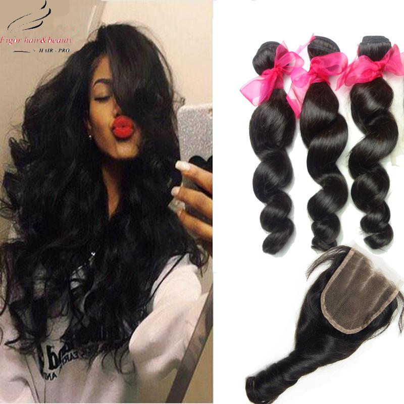 Peruvian Virgin Hair Loose Wave 3 Bundles Virgin Hair Peruvian Loose Wave Virgin Human Hair Cheap Peruvian Hair
