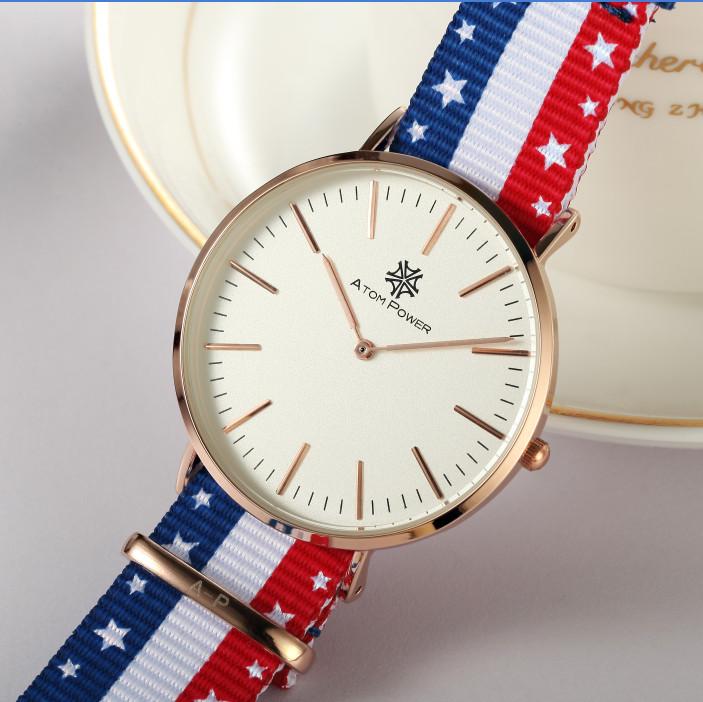 popular watches men usa buy cheap watches men usa lots from usa flagtop fashion brand luxury men fashion quartz watch 30m waterproof fashion nylon strap quartz watch
