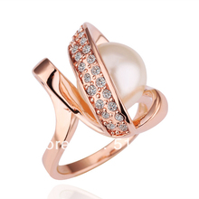 Z141  18K Gold Ring, Engagement Rings For Women Free shipping, Hellomiss Fashion Crystal Jewelry 2013(China (Mainland))