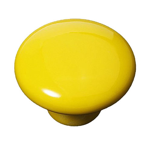 Гаджет  ABWE!2pcs Yellow Round Ceramic Cupboard Knob Drawer Cabinet Pull Handle L None Мебель