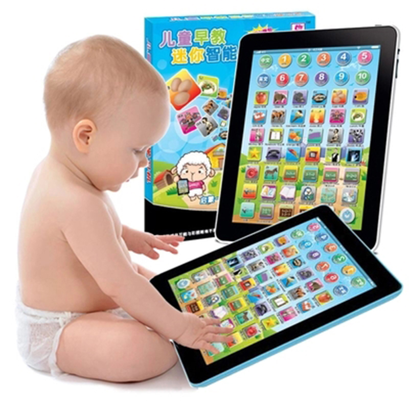 2016 hot sale Learning Machine Children Russian Computer Learning Education Machine Tablet Toy Gift For Kid convenient to use zk(China (Mainland))