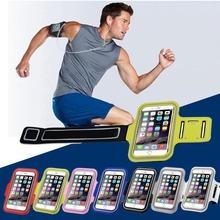 Спорт повязки чехол для iphone 6 6 S чехол для Samsung Galaxy премьер-страусовых S3 S4 S5 S6 край Huawei P8 облегченная коке Fundas