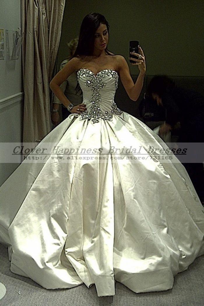 Blinged Out Wedding Dress | Wedding Planning