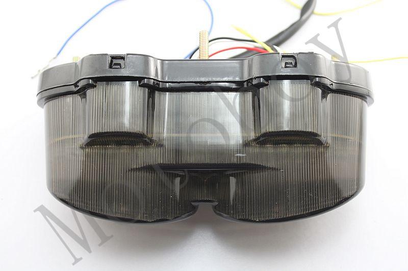 Smoke Integrated LED Tail Light Signals For Kawasaki ZX6R J1/J2 2000 2001 2002(China (Mainland))