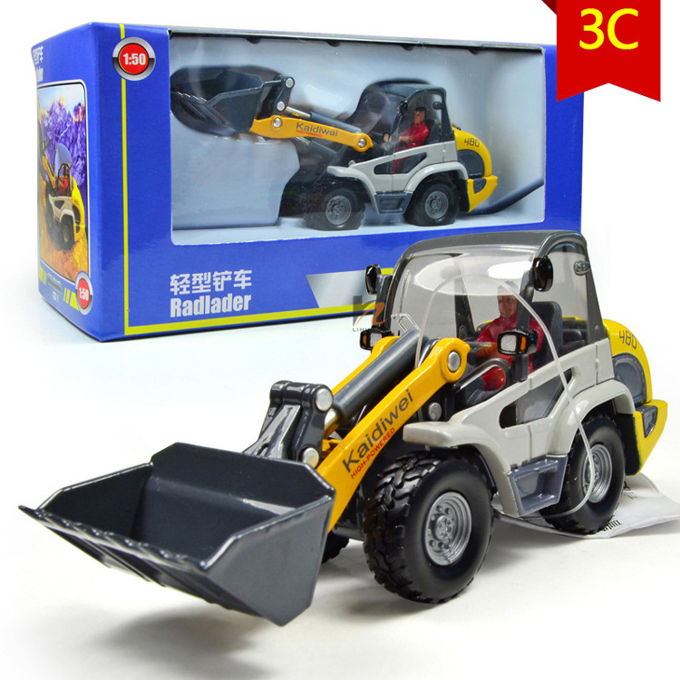 New Front End Shovel Loader 1:50 Construction Vehicles Equipment Diecast Model Toy(China (Mainland))