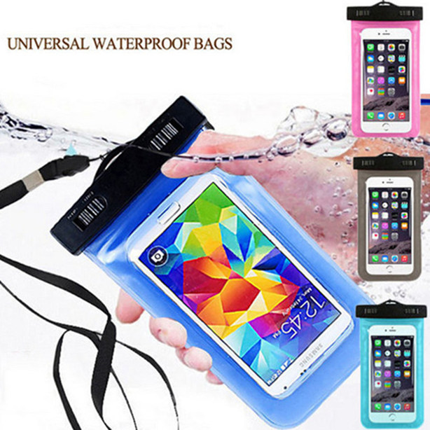 Waterproof Mobile Phone Bags with Strap Dry Pouch Cases Cover For Motorola Moto E E2 G G2 G3 X X2 Swimming Case New(China (Mainland))