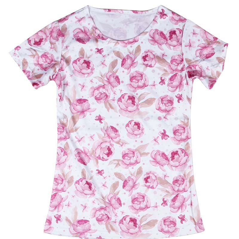Pink Flower Shirt | Is Shirt