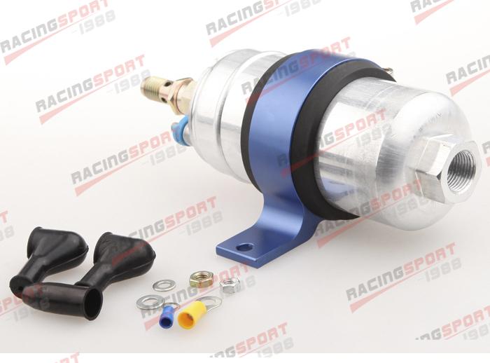 External Fuel Pump 044 for Bosch With Billet Aluminium Bracket/Clamp/Cradle Blue<br><br>Aliexpress