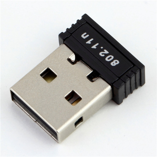 1pc Mini USB WiFi Adapter N 802.11 b/g/n Wi-Fi Dongle High Gain 150Mbps wireless Antenna wi fi for computer Phone Newest(China (Mainland))