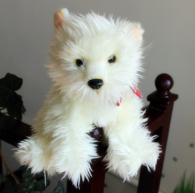 Kawaii Plush Teddy Dog Doll Stuffed Toys Dogs Poodle Girl Baby Birthday Gift Ideas(China (Mainland))