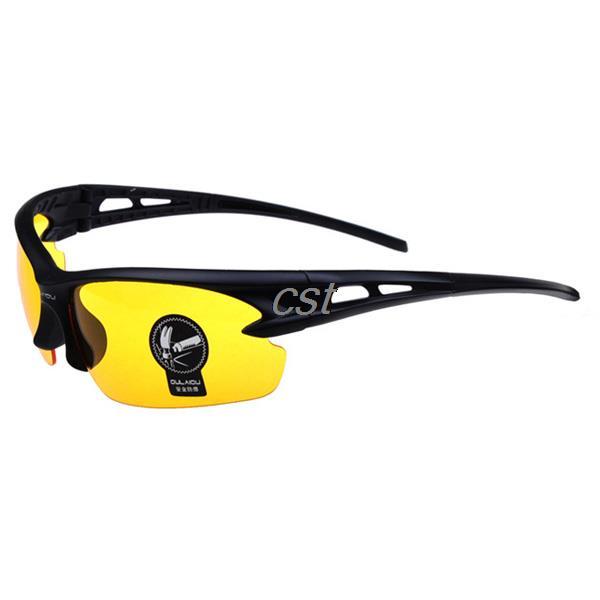 Wholesale Fashion Explosion proof Glasses Anti UV Lens Sunglasses Eyewear Sports Driving Eyeglasses Night Vision Goggle