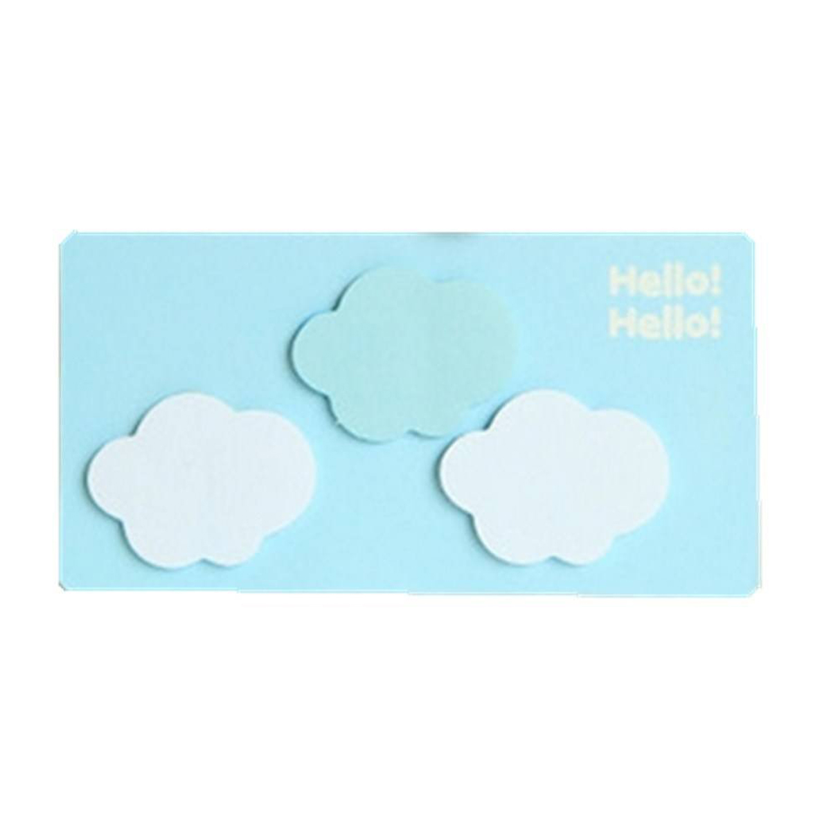 SAF Wholesale Sticky Notes Memo Note Lovely Forest Story Clouds Shape<br><br>Aliexpress