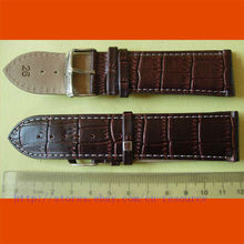 1 x 26 mm GENUINE COW LEATHER watch band coffee 03