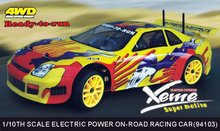 HSP 94103 1/10th Scale Electric Powered On Road Touring rc car electric P2