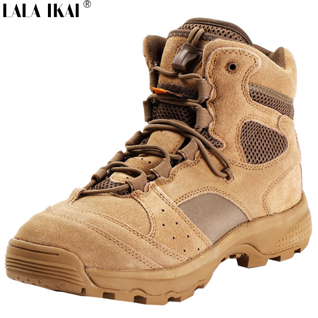 IKAI Tactical Boots Breathable Outdoor Hunting Desert Military Army US Combat XMG0039-2