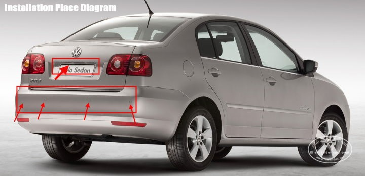 VW-polo-sedan-BIBI Alarm Parking System