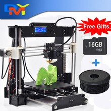 2015 New Upgraded Quality High Precision Reprap Prusa I3 -X DIY Full Acrylic 3d Printer Kits Free LCD