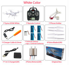 SYMA X5SW / X5SW-1 WIFI Drone Quadcopter With FPV Camera Headless 6-Axis Real Time RC Helicopter Quad copter With 5 Batteries(China (Mainland))