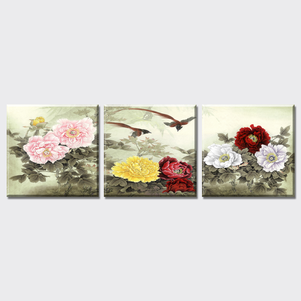 Chinois Pivoine Peinture Promotion Achetez Des Chinois