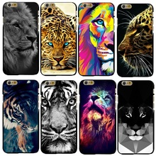 Buy New Fashion Lion Tiger Design Cover Case Apple iPhone 4 4S 5 5S SE 5C 6 6S 7 Plus Hard Plastic Phone Cover Coque Shell for $1.14 in AliExpress store