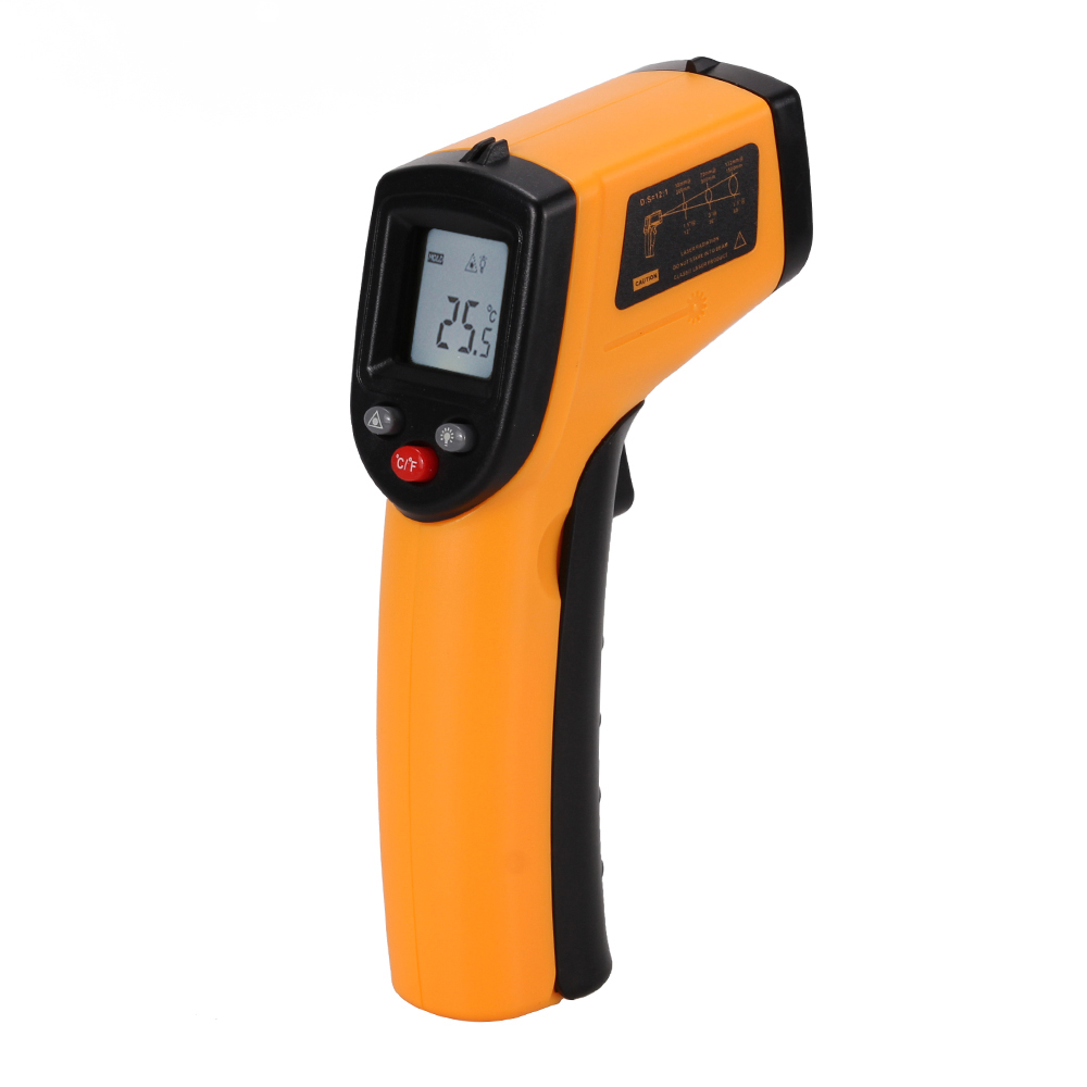 Non-Contact IR Infrared Thermometer LCD Display Digital Temperature Gun Handheld Temp Thermometer Laser High Accuracy