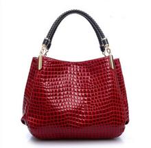 New 2014 Fashion Desigual Brand Leather Women Handbag Shoulder Bags Crocodile Women Messenger Bags Bolsas Travel
