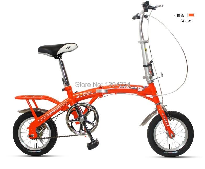 Phoenix Bicycle ultra-small 12-inch single-speed folding bike mini car(China (Mainland))