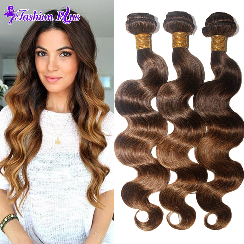 #4/30 Top 7A Malaysian Virgin Hair 4 Bundles Malaysian Body Wave Human Hair Weave Unprocessed Virgin Hair Ombre Hair Extensions(China (Mainland))
