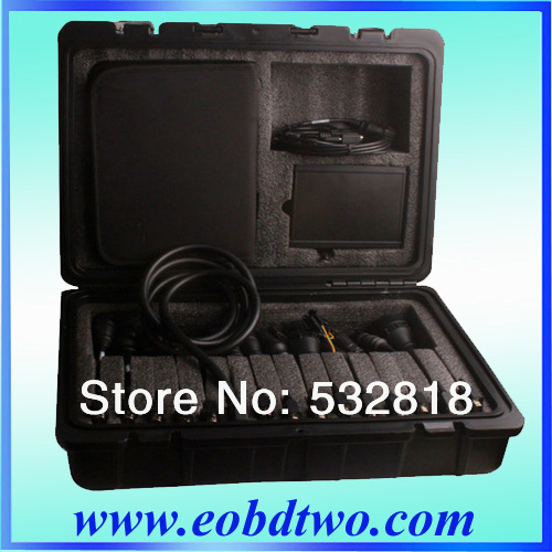 Newest Arrival WAS Multi-Diag Truck Diagnostic Tool Bluetooth Multi-Language Heavy Duty was Multidiag truck(China (Mainland))