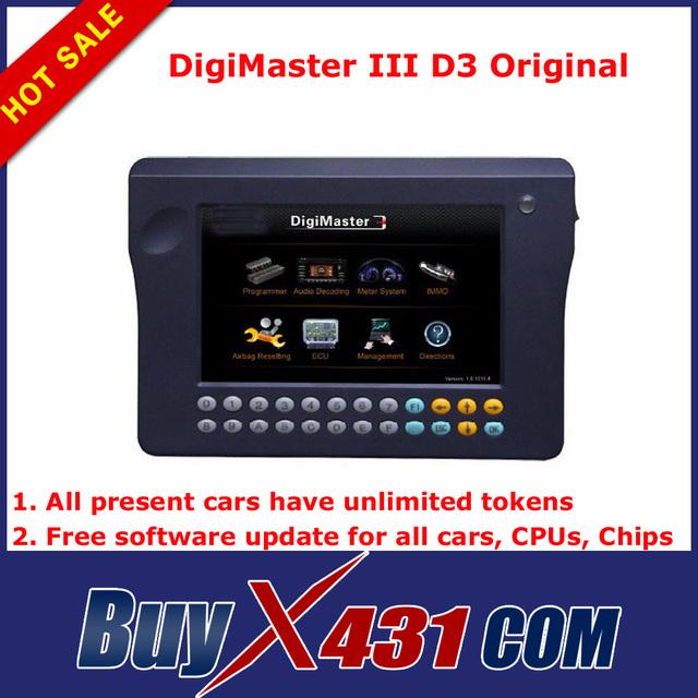 Original DigiMaster III Digimaster iii Full Set Odometer Correction Master Tool Kit No Tokens Limited + DHL Free 3-5 Days