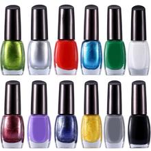 New Fashion 10ml 12 Colors Lot Nail Art Stamp Stamping Polish Sweet Style For DIY Nail Polish Print Accessories Wholesale(China (Mainland))
