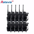 10pcs Cheap Walkie Talkie Radio Retevis H777 3W 16CH UHF 400 470MHz Flashlight CTCSS DCS Walkie