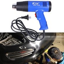 1800 W 220 V Dual modos temperatura ajustable Bule Electric Power Tool caliente pistola de calor de aire ee.uu. Plug pistolas de aire caliente del ventilador
