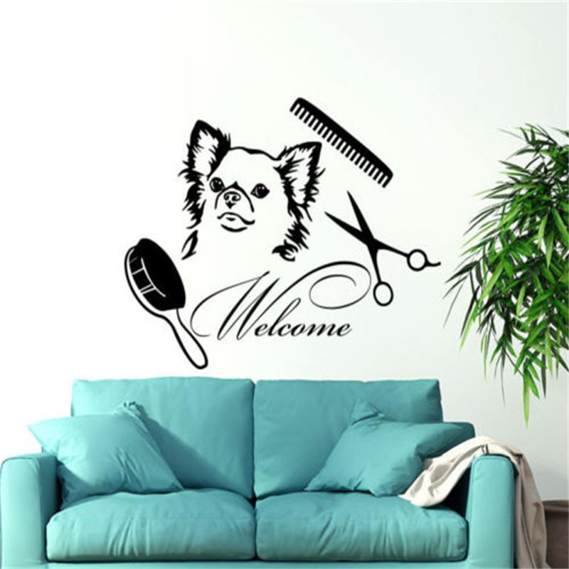 Bienvenue chien promotion achetez des bienvenue chien promotionnels sur alibaba - Le salon de toilettage petshop ...