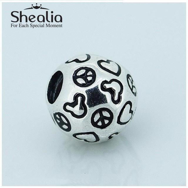 Весна комикс мышь мир подвески-талисманы аутентичные 925 чистое серебро ювелирные изделия для своими руками браслеты SH0657