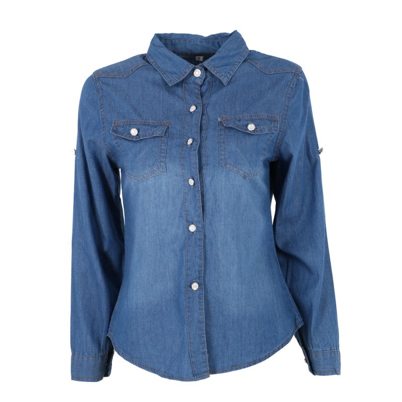 Popular Jean Shirts-Buy Cheap Jean Shirts lots from China Jean ...